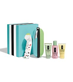 Clinique Sweet Sonic Brush Gift Set For Oilier Skins (Skin Type III/IV)(a $124 Value)