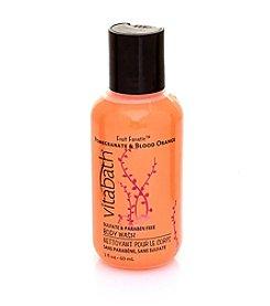 Vitabath® Pomegranate & Blood Orange Trial & Travel Moisturizing Body Wash