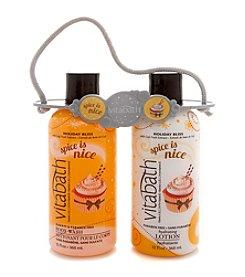 Vitabath® Spice Is Nice Body Wash & Lotion Gift Set