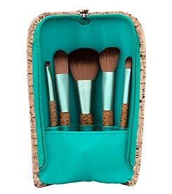 6 Piece Upright Cork Brush Set