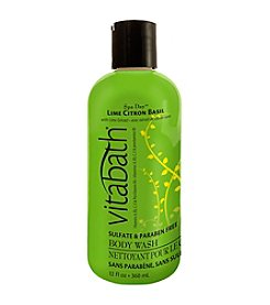 Vitabath® Lime Citron Basil Moisturizing Body Wash