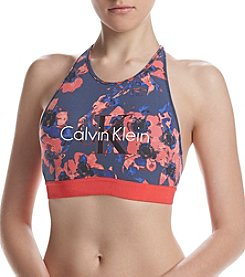 Calvin Klein Retro Calvin Unlined High Neck Bralette