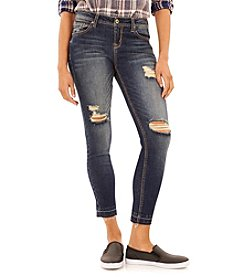 Wallflower® Destroyed Skinny Jeans