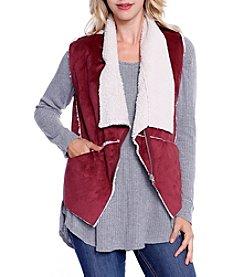 Skylar & Jade™ Faux Sherpa Zip Vest