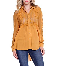 Skylar & Jade™ Scallop Lace Tunic