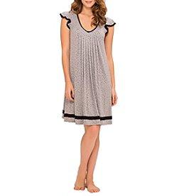 Ellen Tracy® Knit Flutter Sleeve Chemise