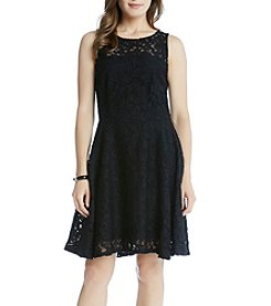 Karen Kane® Fit And Flare Lace Dress