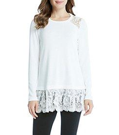 Karen Kane® Yoke Inset Sweater