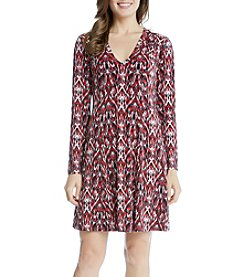 Karen Kane® Fit And Flutter Dress