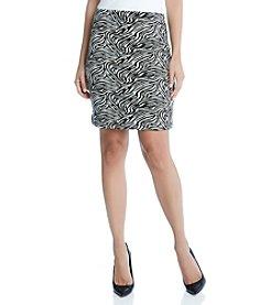 Karen Kane® Zebra Print Skirt