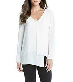 Karen Kane® Draped Angle Top