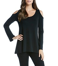Karen Kane® Cold Shoulder Top