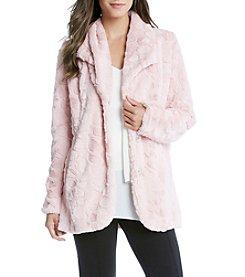Karen Kane® Faux Fur Coat