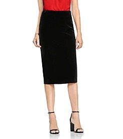 Vince Camuto® Velvet Midi Tube Skirt