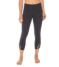 Betsey Johnson® Performance Strappy Sunburst Leggings