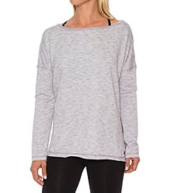 Betsey Johnson® Performance Split Hem Pullover Fleece