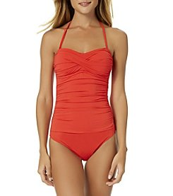 Anne Cole® Twist Bandeau One Piece