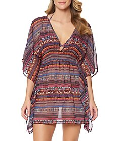 Jessica Simpson Chiffon Cover Up Dress