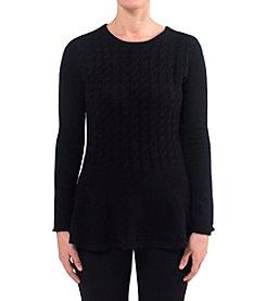 Premise Cashmere® Peplum Sweater