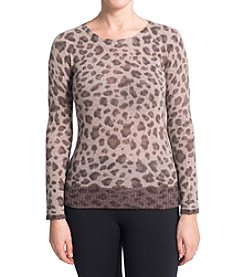 Premise Cashmere® Cheetah Pullover