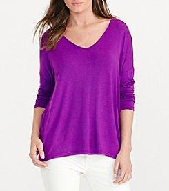 Lauren Ralph Lauren® Long Sleeve Knit Tee