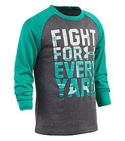 Under Armour® Boys' 2T-7 Fight For Every Yard Tee
