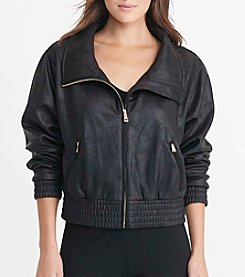 Lauren Ralph Lauren® Petites' Coated Fleece Jacket
