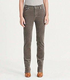 Lauren Ralph Lauren® Petites' Premier Straight Corduroy Pant
