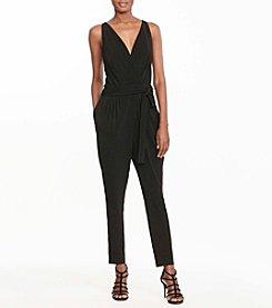 Lauren Ralph Lauren® Petites' Jersey Surplice Jumpsuit
