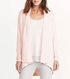 Lauren Ralph Lauren® Petites' Open-Front Jersey Cardigan