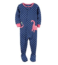 Carter's® Girls' 12M-4T One Piece Dino Sleeper