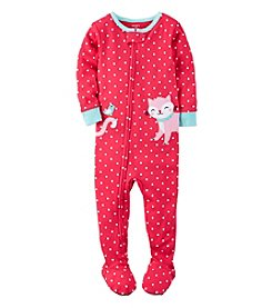 Carter's® Girls' 12M-4T One Piece Kitten Sleeper