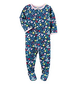 Carter's® Baby Girls' One-Piece Floral Sleeper
