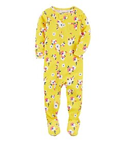 Carter's® Girls' 12M-4T One-Piece Floral Sleeper