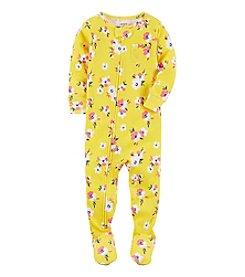Carter's® Girls' 12M-4T One-Piece Floral Sleeper