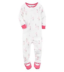 Carter's® Girls' 12M-4T One Piece Bunny Ballerina Sleeper
