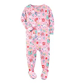 Carter's® Girls' 12M-4T One-Piece Fairy Tale Sleeper