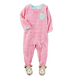 Carter's® Girls' 12M-4T One Piece Puppy Pocket Sleeper