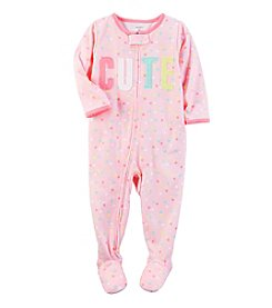 Carter's® Girls' 12M-4T One Piece Cute Sleeper