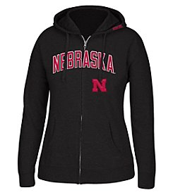 J. America® NCAA® Nebraska Cornhuskers Women's Full Zip Hoodie