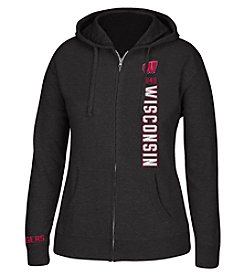 J. America® NCAA® Wisconsin Badgers Women's Full Zip Hoodie