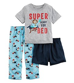Carter's® Boys' 2T-12 3-Piece Super Ready Pajama Set