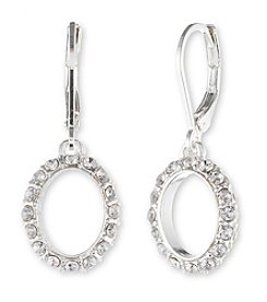 Anne Klein® Pave Drop Earrings