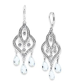 Anne Klein® Crystal Drop Earrings