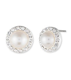 Anne Klein® Pearl Stud Earrings