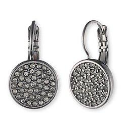 Anne Klein® Pave Drop Earrings
