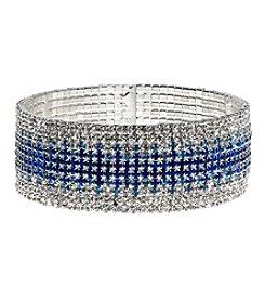 Anne Klein® Silvertone Ombre Bracelet