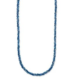 Anne Klein® Blue Strand Necklace