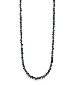 Anne Klein® Jet Strand Necklace