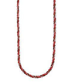 Anne Klein® Siam Strand Necklace